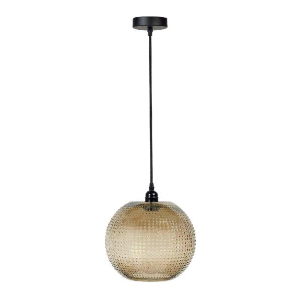 Colgante Dots – Andrea House – cristal con relieve – lampara – Liderlamp