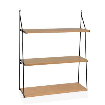 Estanteria de 3 baldas - madera clara - Andrea House - almacenaje vertical - Liderlamp (1)