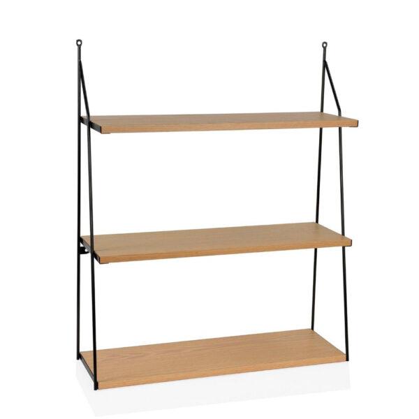 Estanteria de 3 baldas – madera clara – Andrea House – almacenaje vertical – Liderlamp (1)