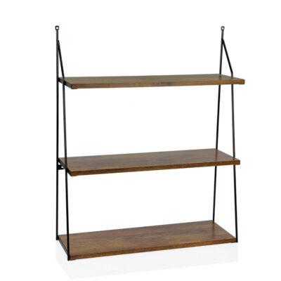 Estanteria de 3 baldas - madera oscura - Andrea House - almacenaje - Liderlamp (1)