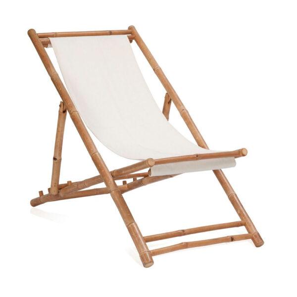 Hamaca plegable de bambu y algodon – Andrea House – mueble auxiliar – exterior – jardin – La Folie Santander (1)