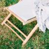 Hamaca plegable de bambu y algodon – Andrea House – mueble auxiliar – exterior – jardin – La Folie Santander (3)