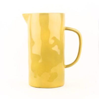 Jarra de ceramica - amarillo - Quail Egg - Artesano - menaje - mesas bonitas - Uk - Liderlamp (3)