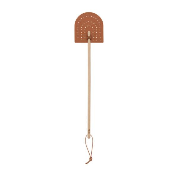 Matamoscas Toffe – cuero – madera – natural – OYOY Design – Deco – Liderlamp (1)
