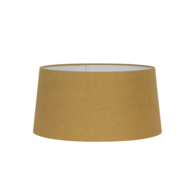 Pantalla Cairina - decoracion textil - mostaza - ocre - Light and Living - Liderlamp