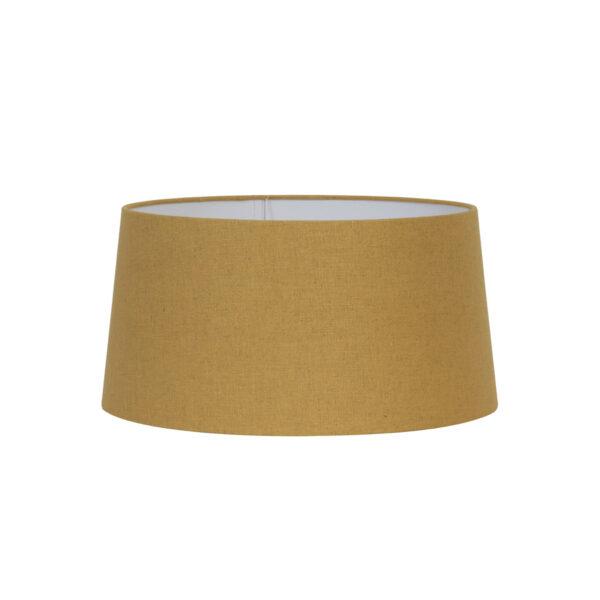 Pantalla Cairina - decoracion textil - mostaza - ocre - Light and Living - Liderlamp