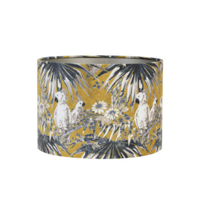 Pantalla Loros - decoración - tropical - textil - Light and Living - Liderlamp (1)
