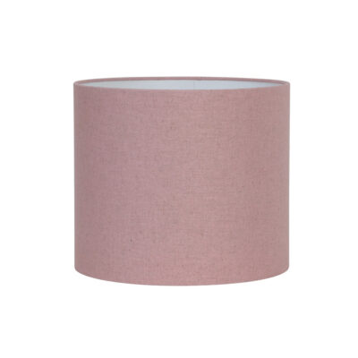 Pantalla Tidae - rosa - empolvado - textil - Light and Living - Liderlamp (1)
