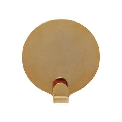 Set de 2 perchas Ping - laton - alamacenaje pared - OYOY - vestidor - Liderlamp (1)