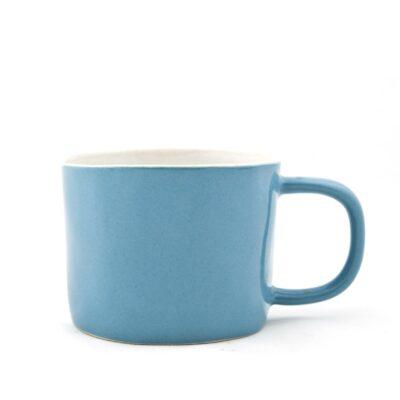 Taza de ceramica - azul petroleo - Quail Egg - Artesano - aperitivo - Liderlamp (4)