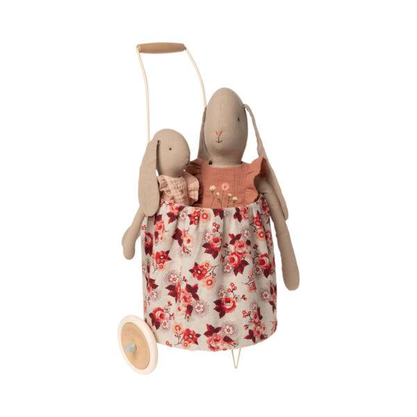 Trolley de flores – rosa – Maileg – juguetero – decoracion ninos – cesta – Liderlamp (2)