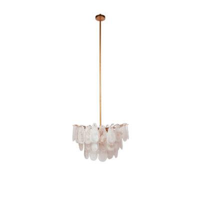 Colgante Blanc - cristal y metal - Chandelier - latón - Dutch Style - Liderlamp