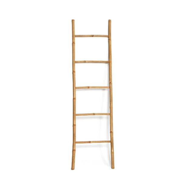 Escalera decorativa bambu Blouma – Andrea House – madera natural – Liderlamp (1)