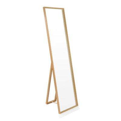 Espejo de pie Bisou - Andrea House - madera natural - dormitorio - recibidor - vestidor - ampliar espacio - Liderlamp (1)
