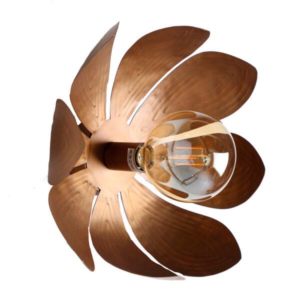 Aplique Bellis – Vical Home – oro viejo – estilo vintage – luz de pared – Liderlamp (1)