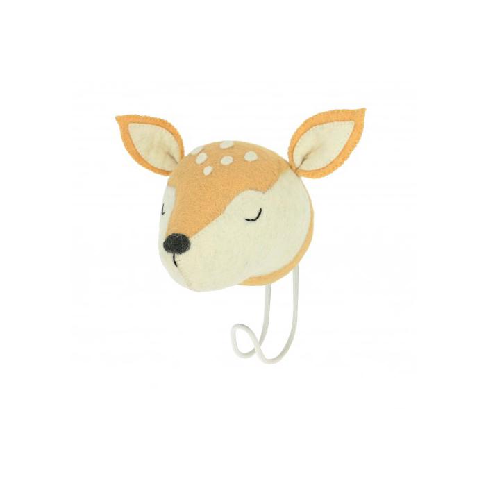Cabeza de Ciervo dormido - percha - almacenaje pared - Fiona Walker - Liderlamp (1)