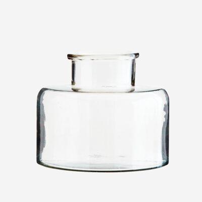 Jarron Forret - Madam Stoltz - cristal transparente - esquejes - flores - Liderlamp