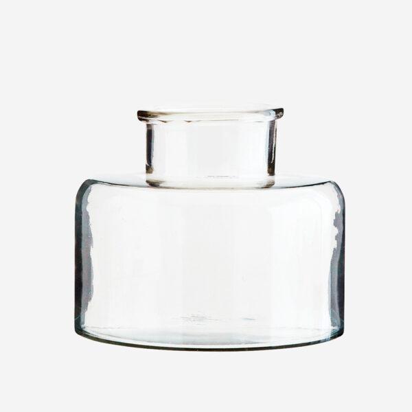 Jarron Forret – Madam Stoltz – cristal transparente – esquejes – flores – Liderlamp
