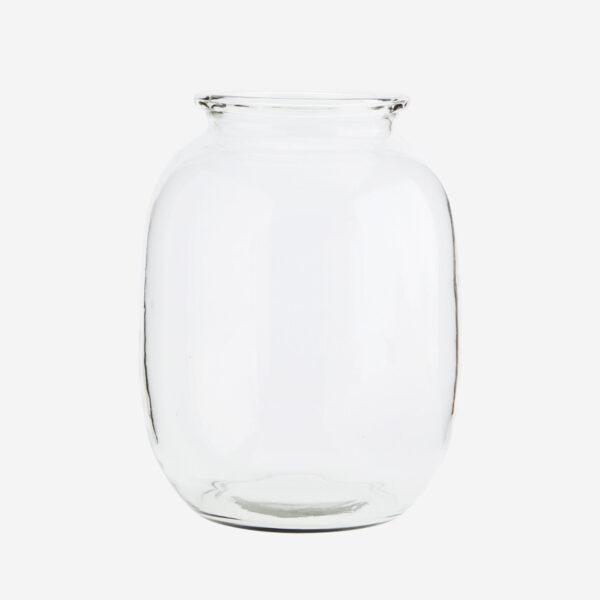 Jarron Garion – Madam Stoltz – cristal transparente – esquejes – flores – Liderlamp (1)