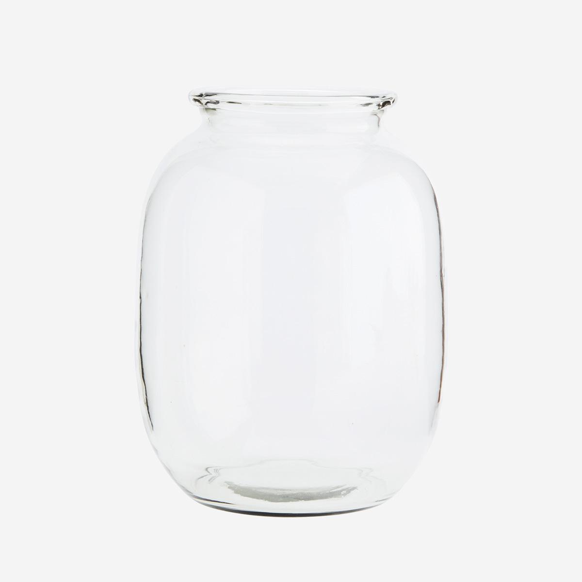 Jarron Garion - Madam Stoltz - cristal transparente - esquejes - flores - Liderlamp (1)