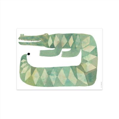 Lamina Crocodile Gustav - Oyoy - Ilustracion - infanil - Liderlamp (1)
