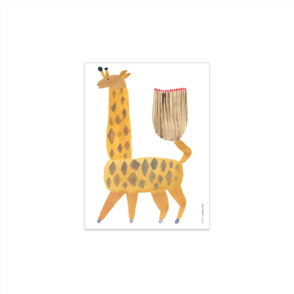 Lamina Noah Giraffe - Oyoy - Ilustracion - Jirafa - Infantil - Liderlamp (1)