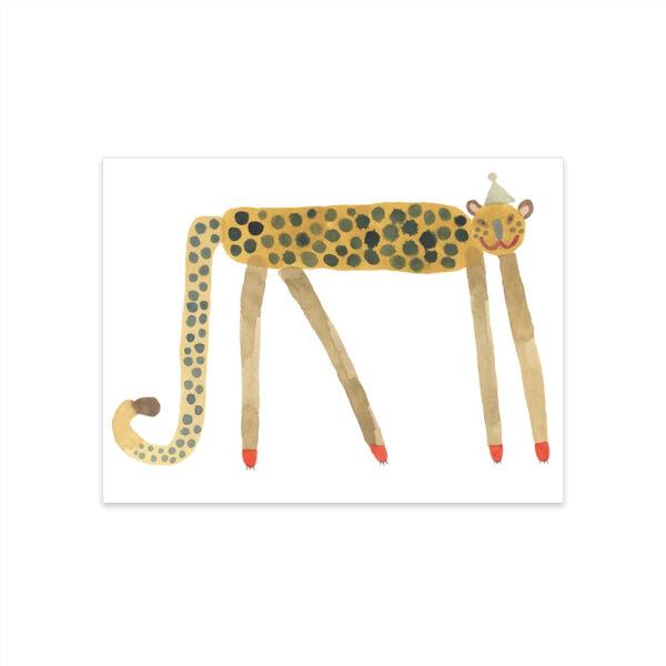 Lamina Smiling Leopard Elvis – Oyoy – Ilustracion – Leon – infanil – Liderlamp