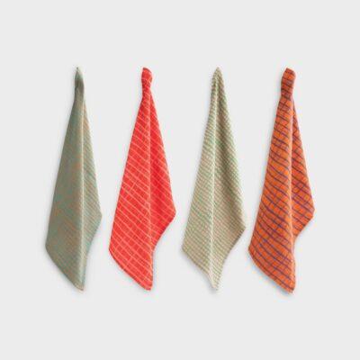 Pano de cocina Grid - &Klevering - multicolor - algodon - Liderlamp (1)