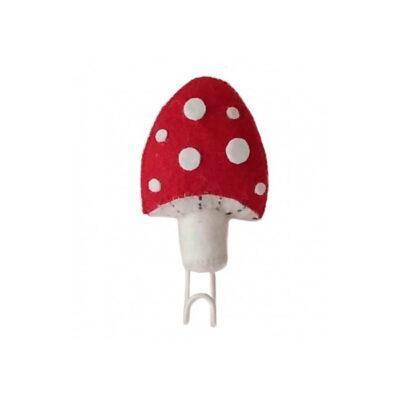 Seta Roja de fieltro - percha - almacenaje pared - Fiona Walker - Liderlamp (1)