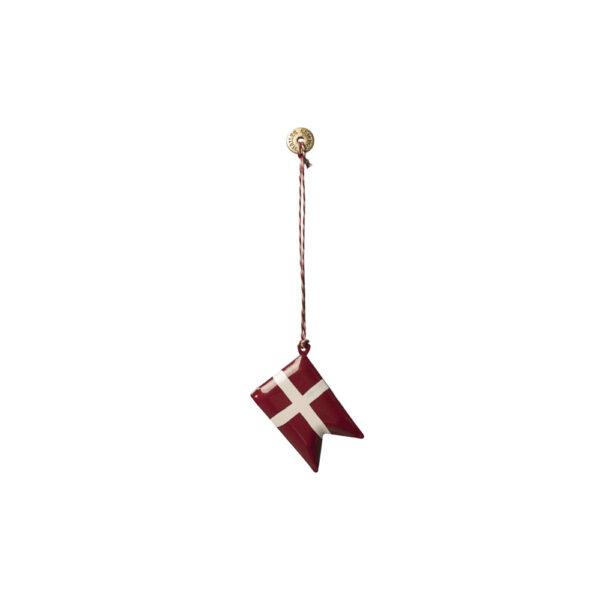 Adorno de navidad – Bandera danesa – Maileg – decoracion – Liderlamp