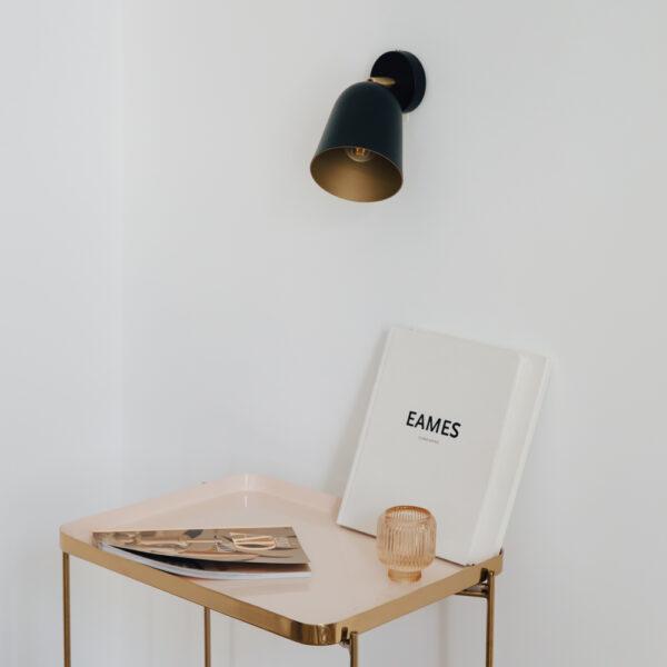Aplique Marta – Luz cabecero – iluminacion bano – Foco – metal – Liderlamp