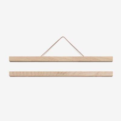 Colgador de laminas de madera - Grande - imanes - poster - marco cuadro - Liderlamp (1)