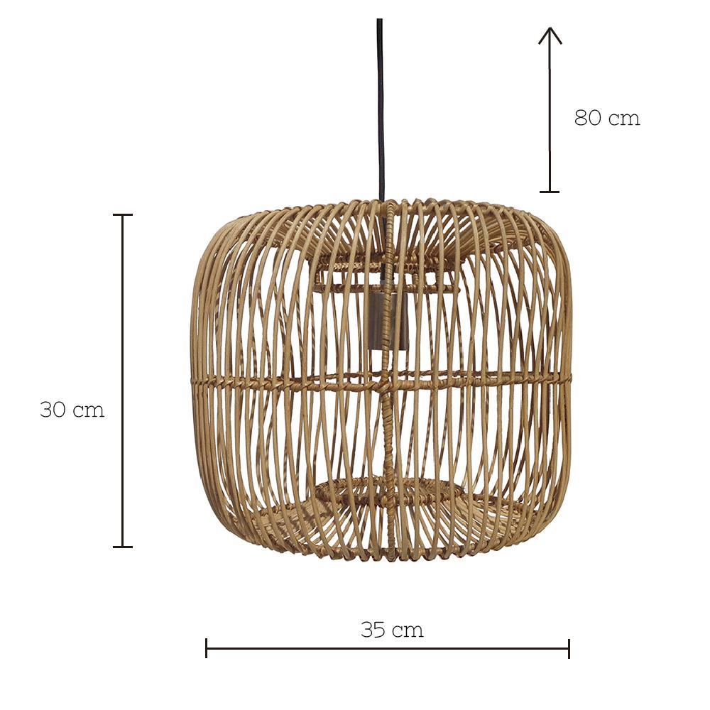 Colgante Breed - Taller de las indias - Fibras naturales - lampara techo - decoracion - Liderlamp (2)