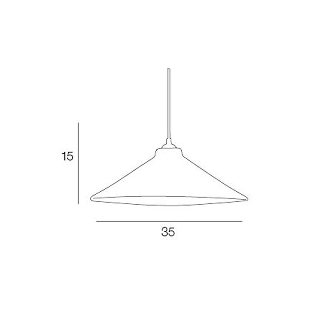 Colgante Canteen - metal esmaltado - retro - vintage - Market set - Liderlamp (2)
