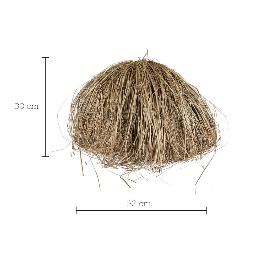 Colgante Gustav - fibras naturales - algas - Liv Interiors - Liderlamp 1