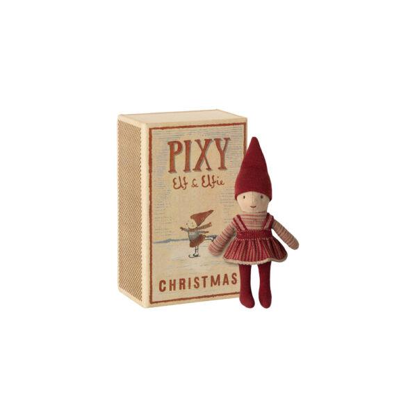 Elfa Pixie - caja de cerillas - Maileg - Munecos - decoracion Navidad - Liderlamp