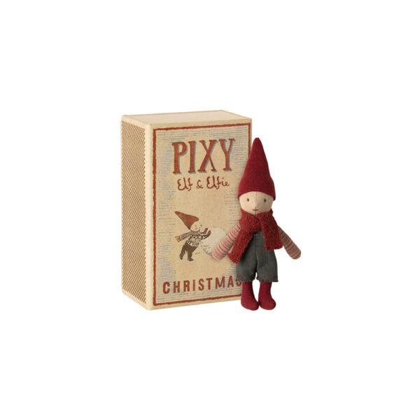Elfo Pixie – caja de cerillas – Maileg – Munecos – decoracion Navidad – Liderlamp (1)