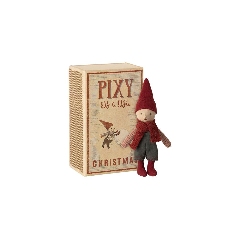 Elfo Pixie - caja de cerillas - Maileg - Munecos - decoracion Navidad - Liderlamp (1)