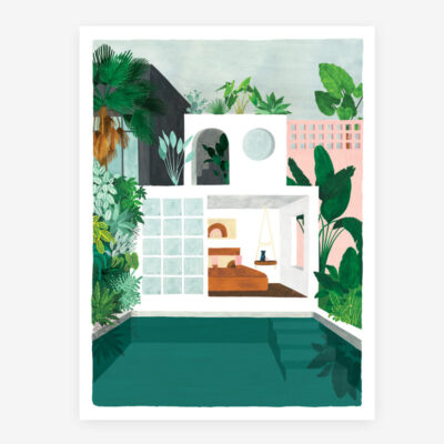 Lamina Guest House - poster - ilustracion - All the ways to say - cuadro - Liderlamp