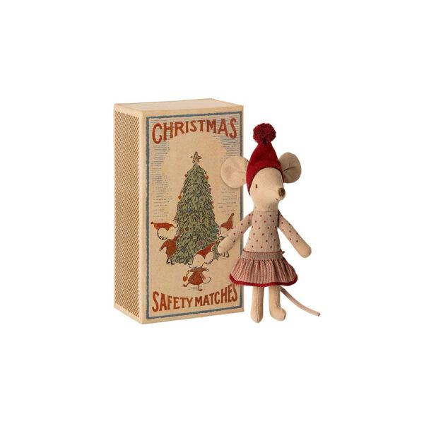 Raton Navidad – Maileg – Big Sister – Juguete de tela – juego tradicional – Liderlamp (1)