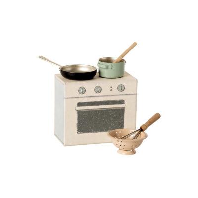 Set de cocina - Maileg - casa de munecas - regalo ninos - Liderlamp (1)