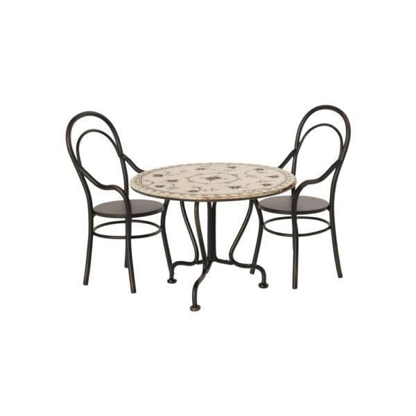 Set de mesa y sillas - Maileg - casa de munecas - regalo ninos - Liderlamp