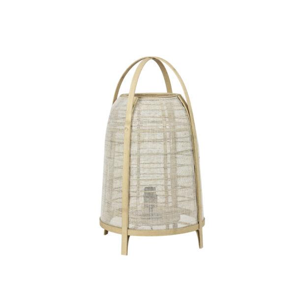 Sobremesa Jacinto - madera - panal - rustico moderno - Light and Living - Liderlamp (2)