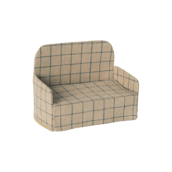 Sofa de cuadros - Maileg - casa de munecas - regalo ninos - Liderlamp (1)