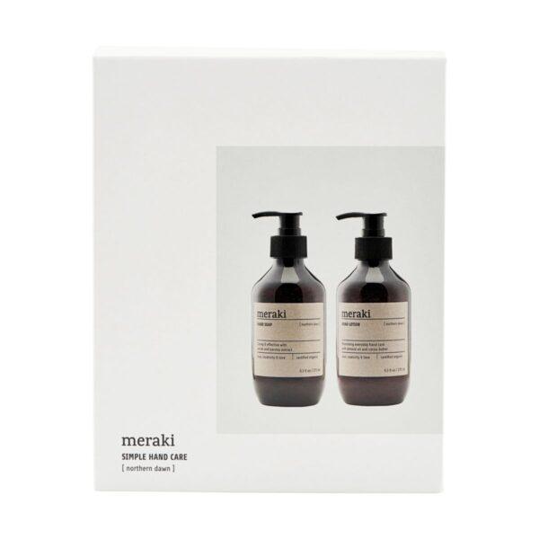 Caja regalo Meraki – Northern dawn – Meraki – jabon – hidratante manos – Liderlamp (1)