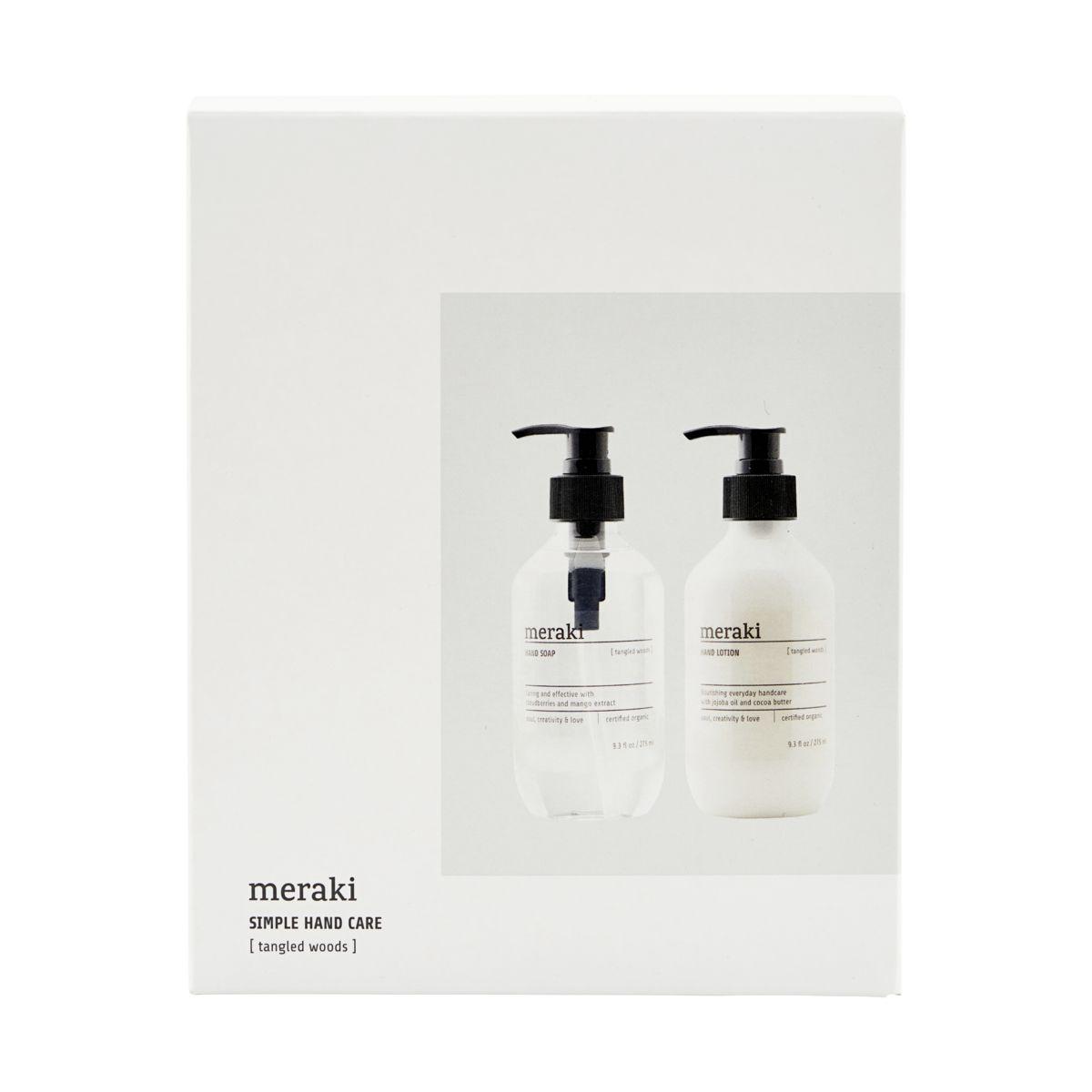 Caja regalo Meraki - Tangled Woods - Meraki - jabon - hidratante manos - hidratante (1)