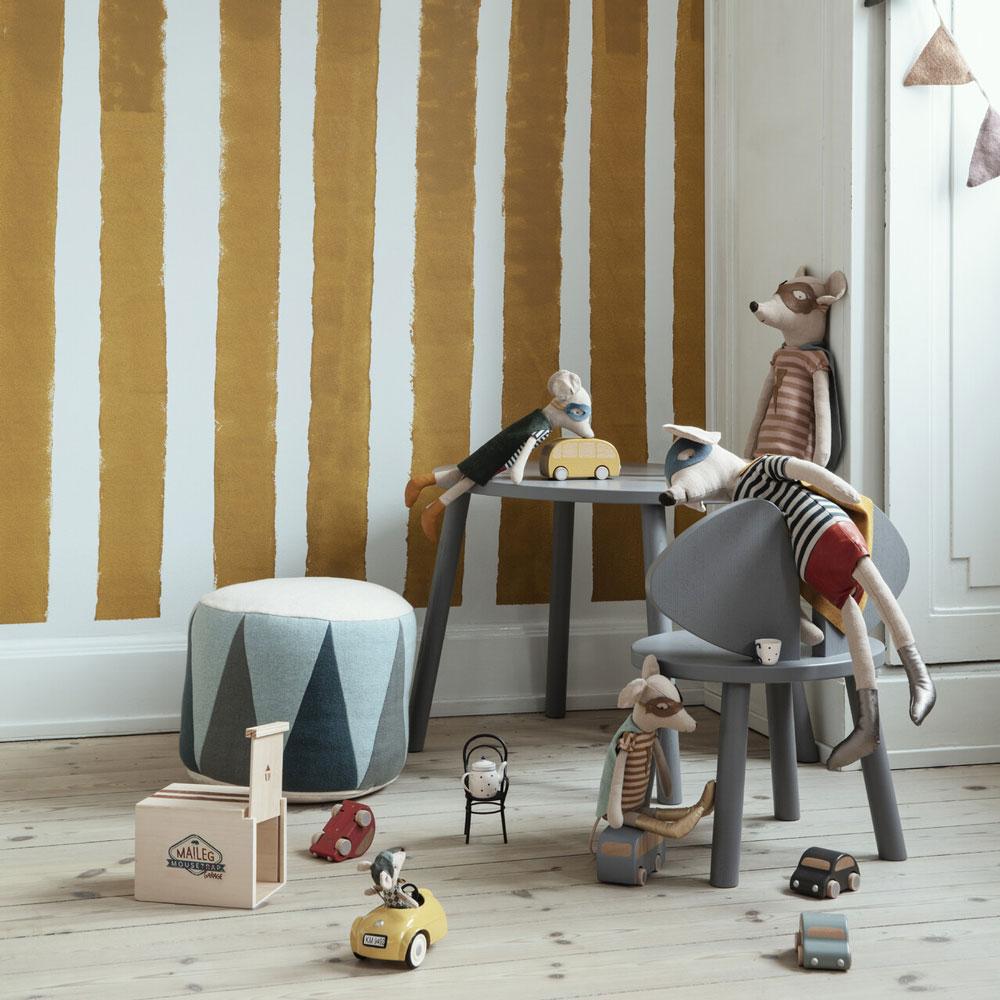Coche y garaje vintage Maileg - superheroes -juguete de madera y metal - ratones - regalo ninos - Liderlamp