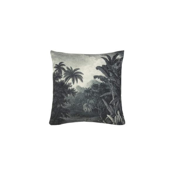 Cojin Illustracion Selva – 45×45 – textil salon – cojines clasicos – HK Living – Liderlamp