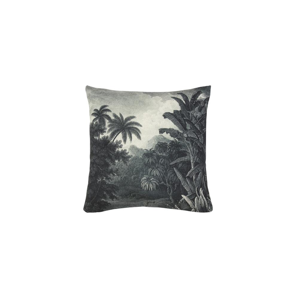 Cojin Illustracion Selva - 45x45 - textil salon - cojines clasicos - HK Living - Liderlamp