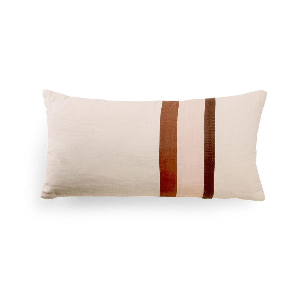 Cojin Rayas Jacquard - 70x35 - textil salon - cojines clasicos - HK Living - Liderlamp (1)